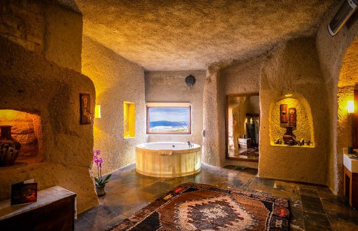 Dünyanın En İyi 12 Mağara Oteli'nde Kapadokya damgası