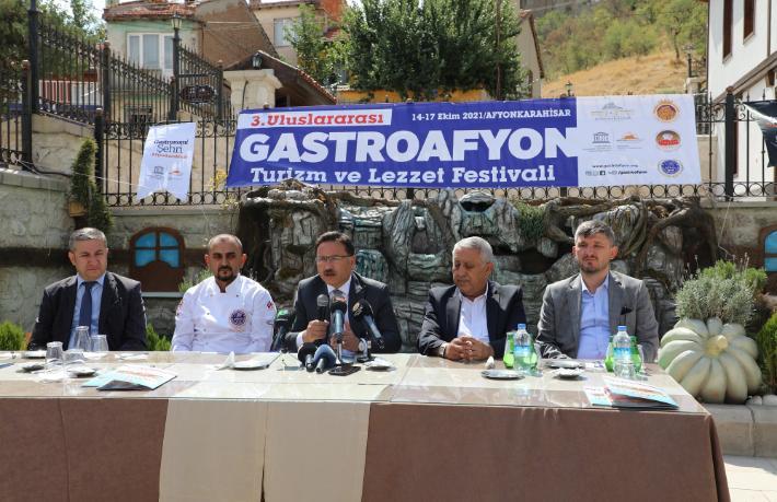 Afyon Turizm ve Lezzet Festivali için geri sayım başladı