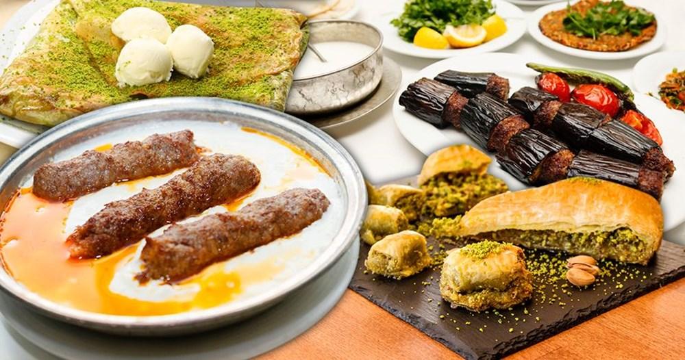 Damak çatlatan lezzetleriyle gastronomi şehri Gaziantep