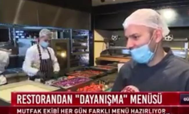 Sarı Restoran'dan ihtiyaç sahiplerine ücretsiz iftar mönüsü