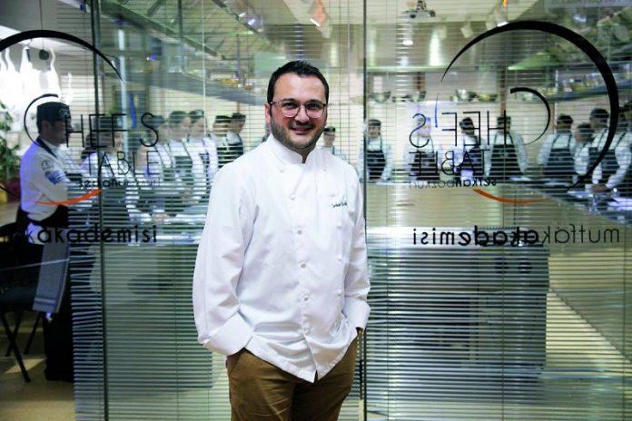 Chef's Table Mutfak Akademisi Kurucusu Şef Serkan Bozkurt :
