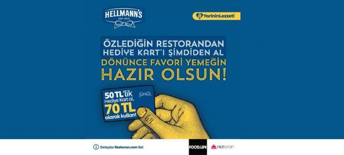 Hellmann s Club, Yarının Lezzeti projesi ile restoranlara destek veriyor!