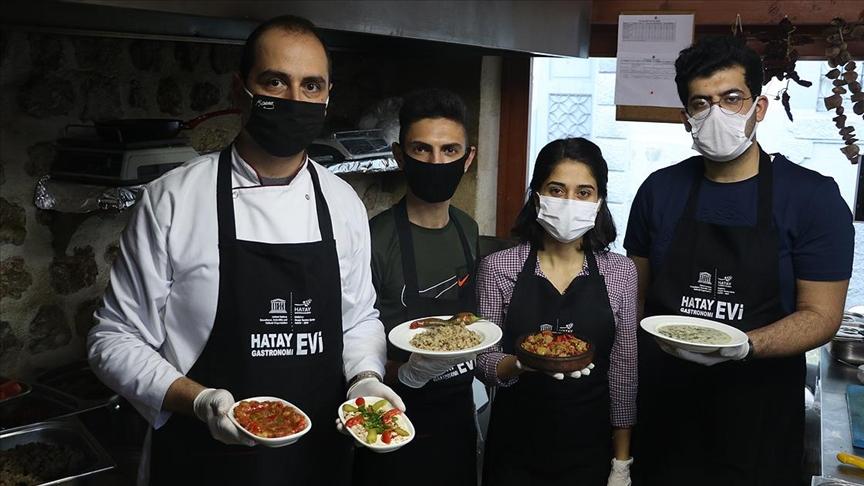 Gastronomi kenti Hatay'da yeni lezzet ustaları yetiştiriliyor