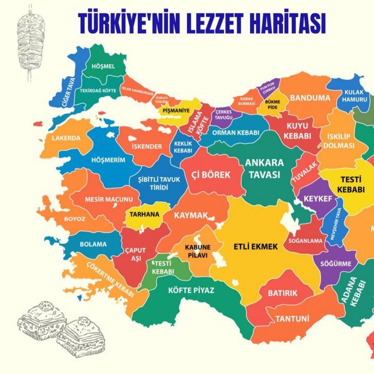 Türkiye lezzet haritası: 50 şehirden 50 simge yemek