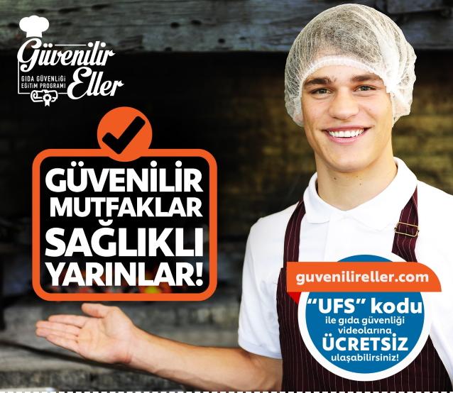 UFS'nin gıda güvenliği eğitimi 'Güvenilir Eller' şifresiz erişime açıldı